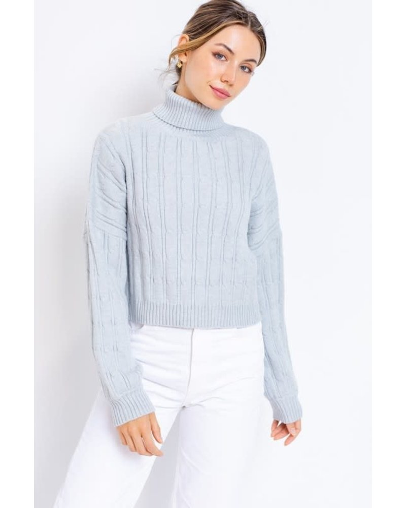 EM & ELLE Callahan Turtleneck Sweater