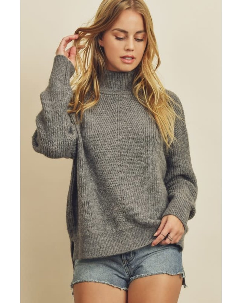 EM & ELLE Angela Turtle Neck Sweater