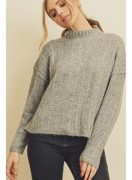 EM & ELLE Amy Mock Neck Sweater