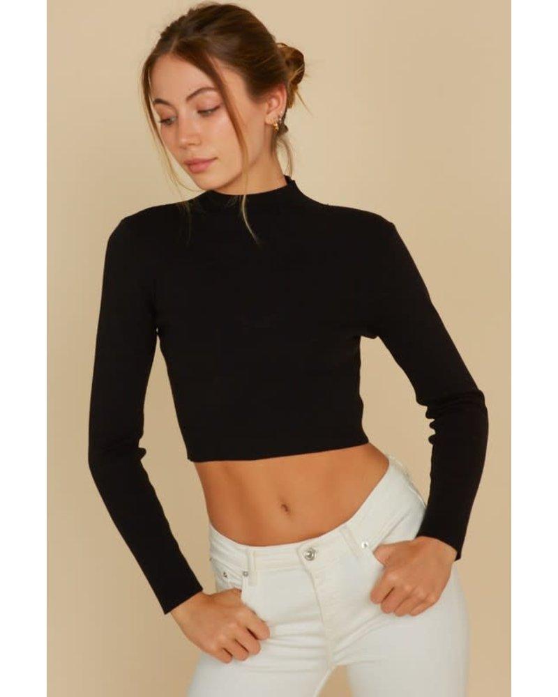 EM & ELLE Overtime Crop Sweater