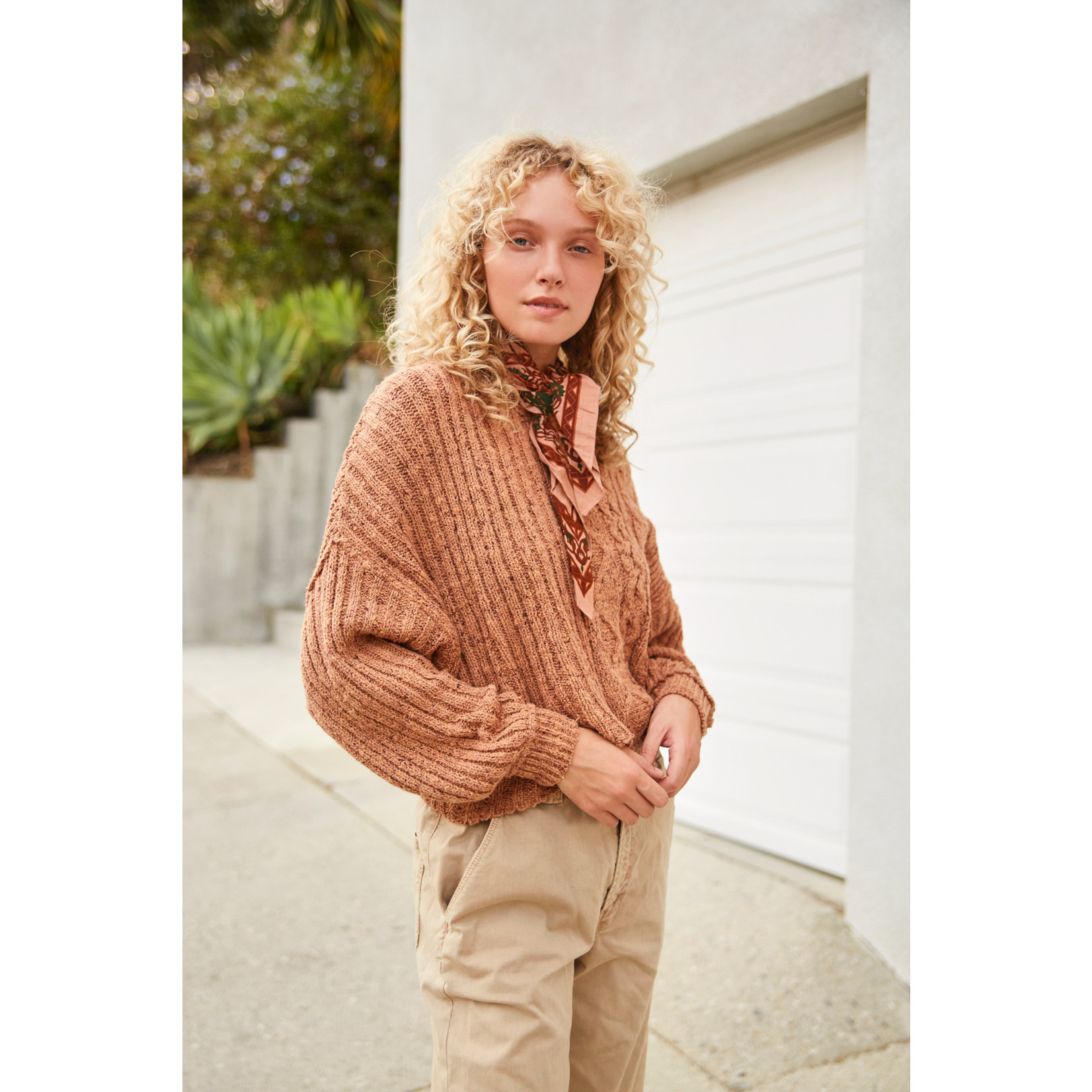 Free People On Your Side Pullover