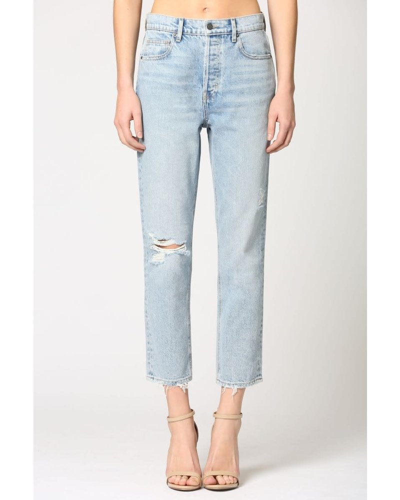Tracey High Waisted Cropped Jean