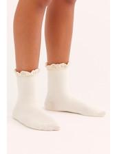 Free People Beloved Waffle Knit Ankle Sock