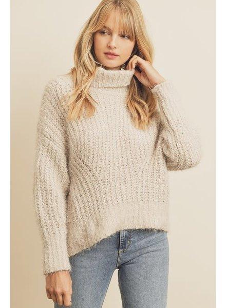 EM & ELLE Muse Turtleneck Sweater