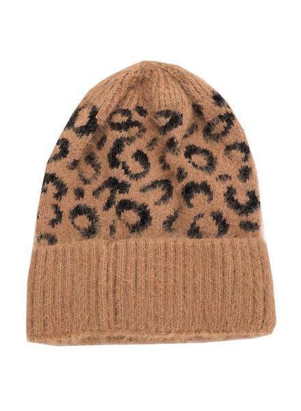 EM & ELLE Leopard Beanie