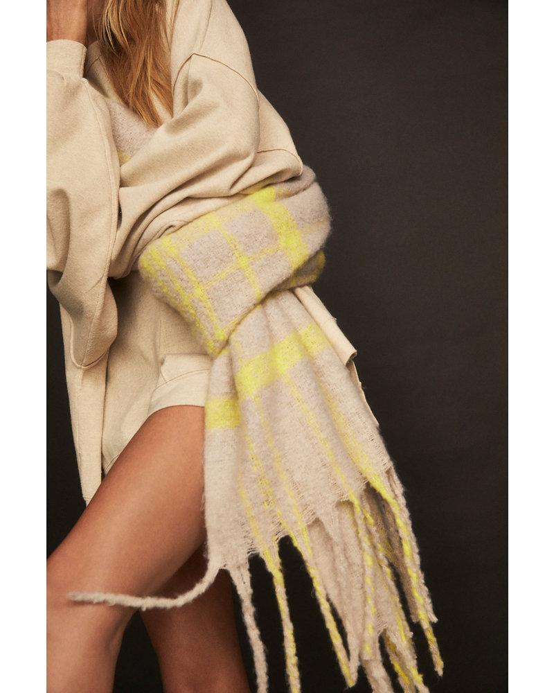 Free People Prep Brushed Blanket Scarf