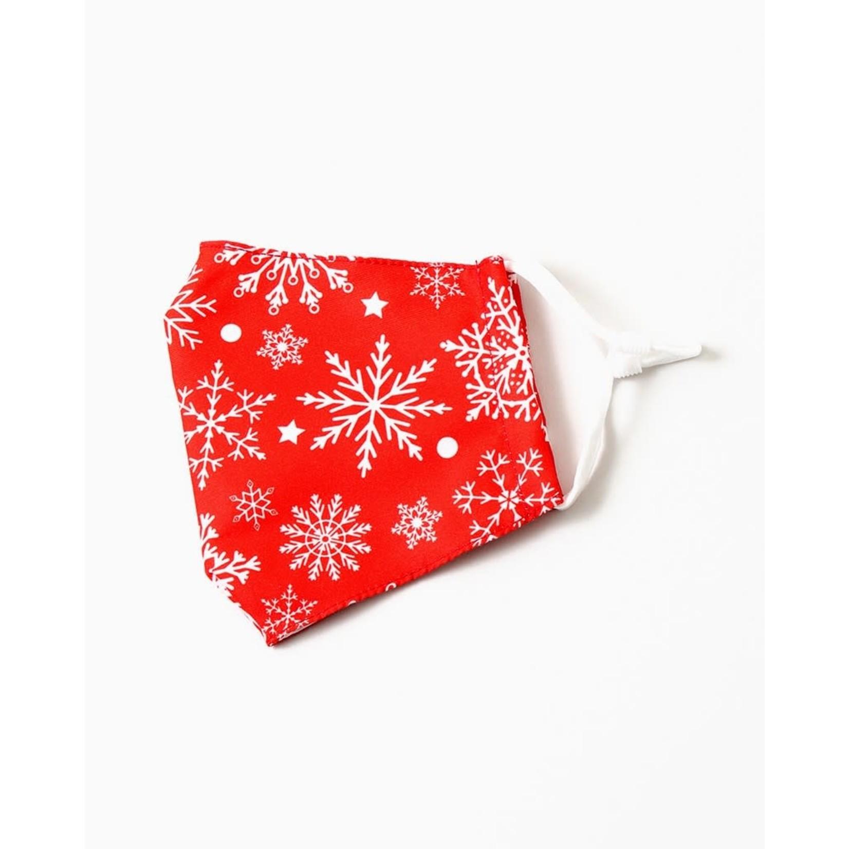 EM & ELLE Holiday Snowflake Mask