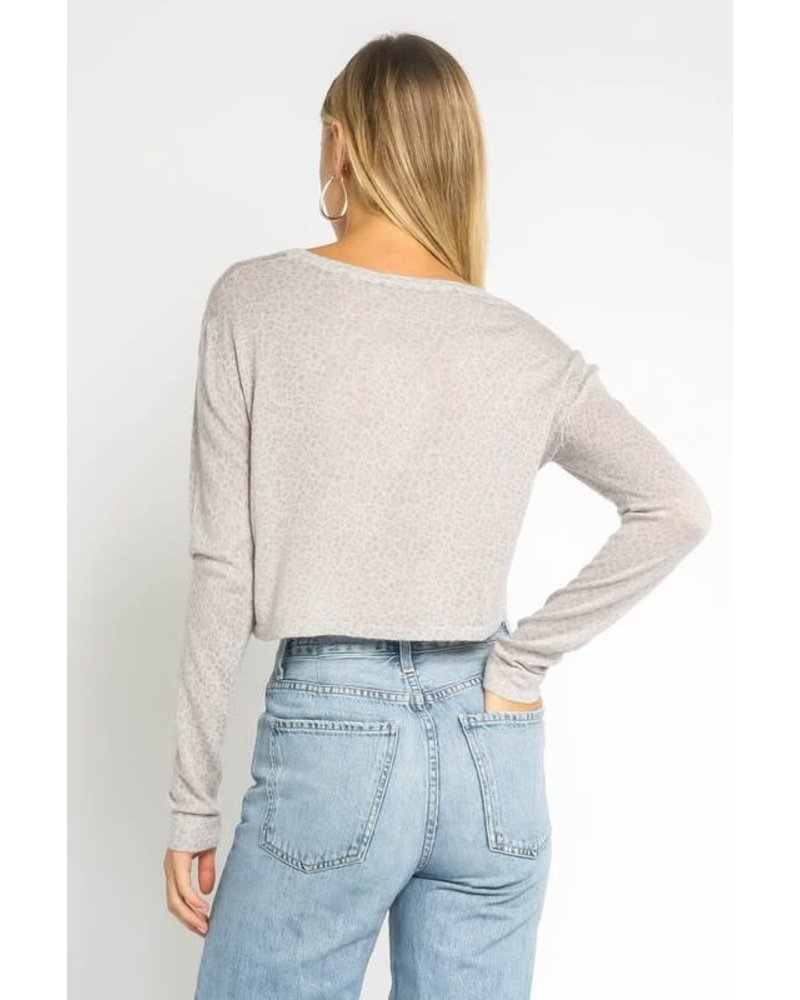 EM & ELLE Speak Up Sweater Top