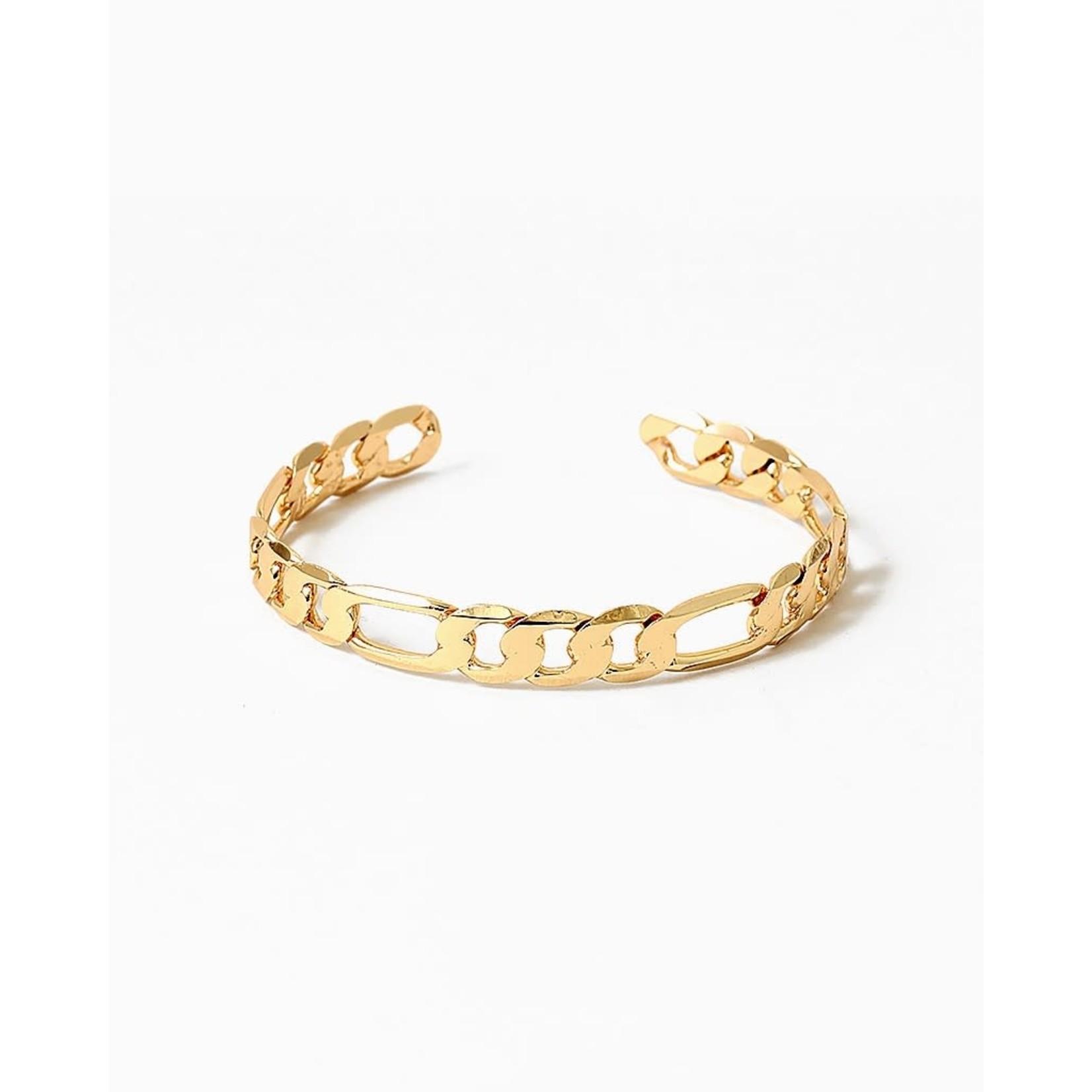 EM & ELLE Figaro Cuff Bracelet