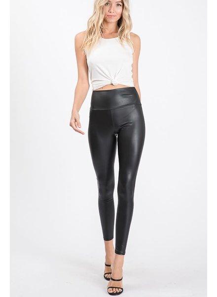EM & ELLE Mia Faux Leather Pant