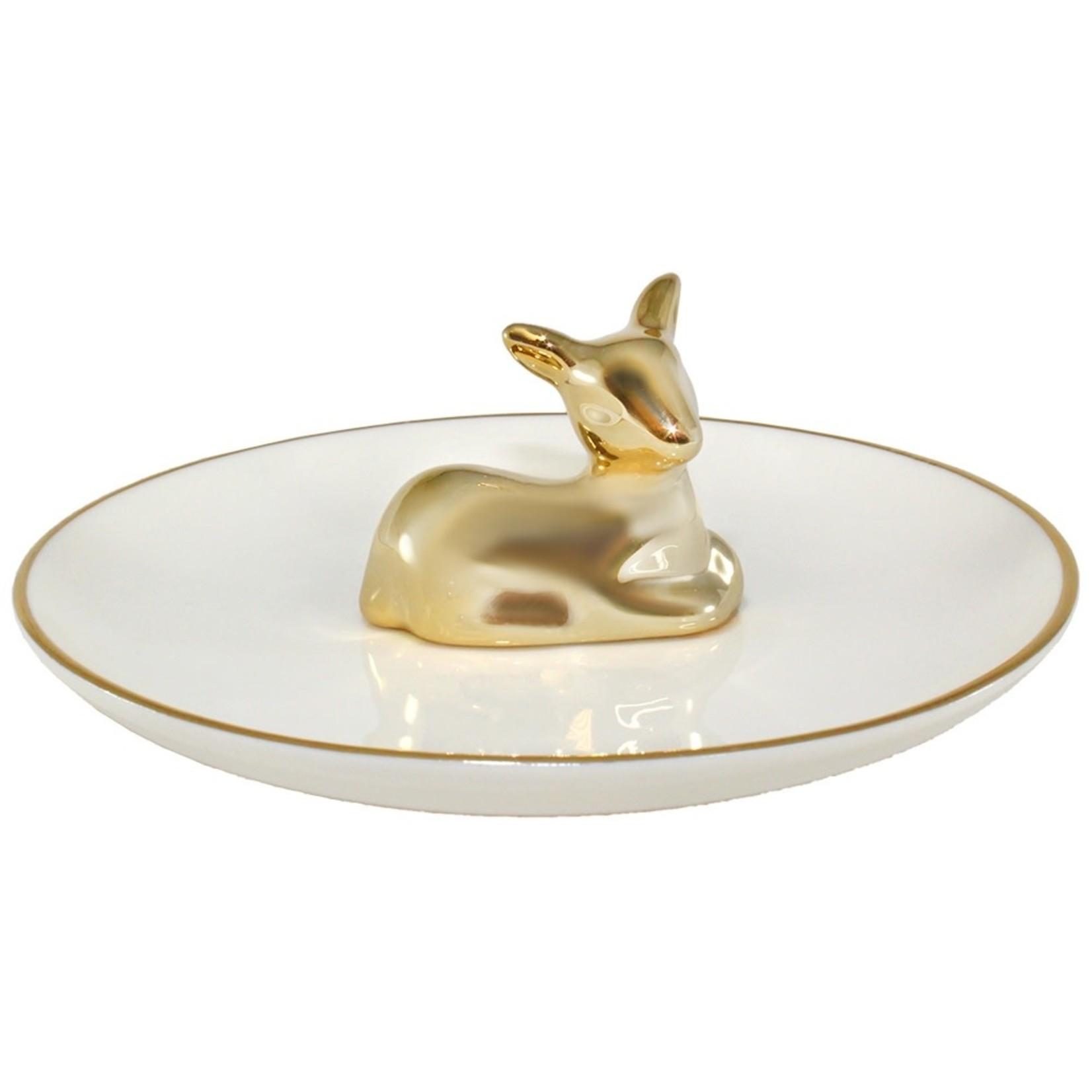 EM & ELLE Deer Ring Tray