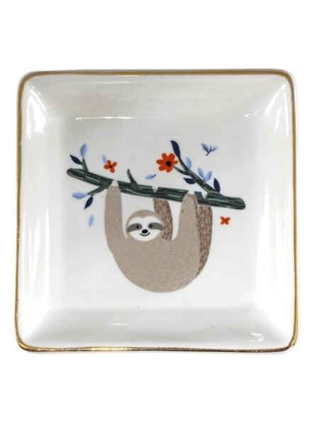 EM & ELLE Sloth Ceramic Dish