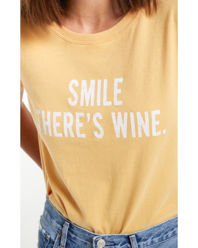 Z Supply Smile There is Wine Tee