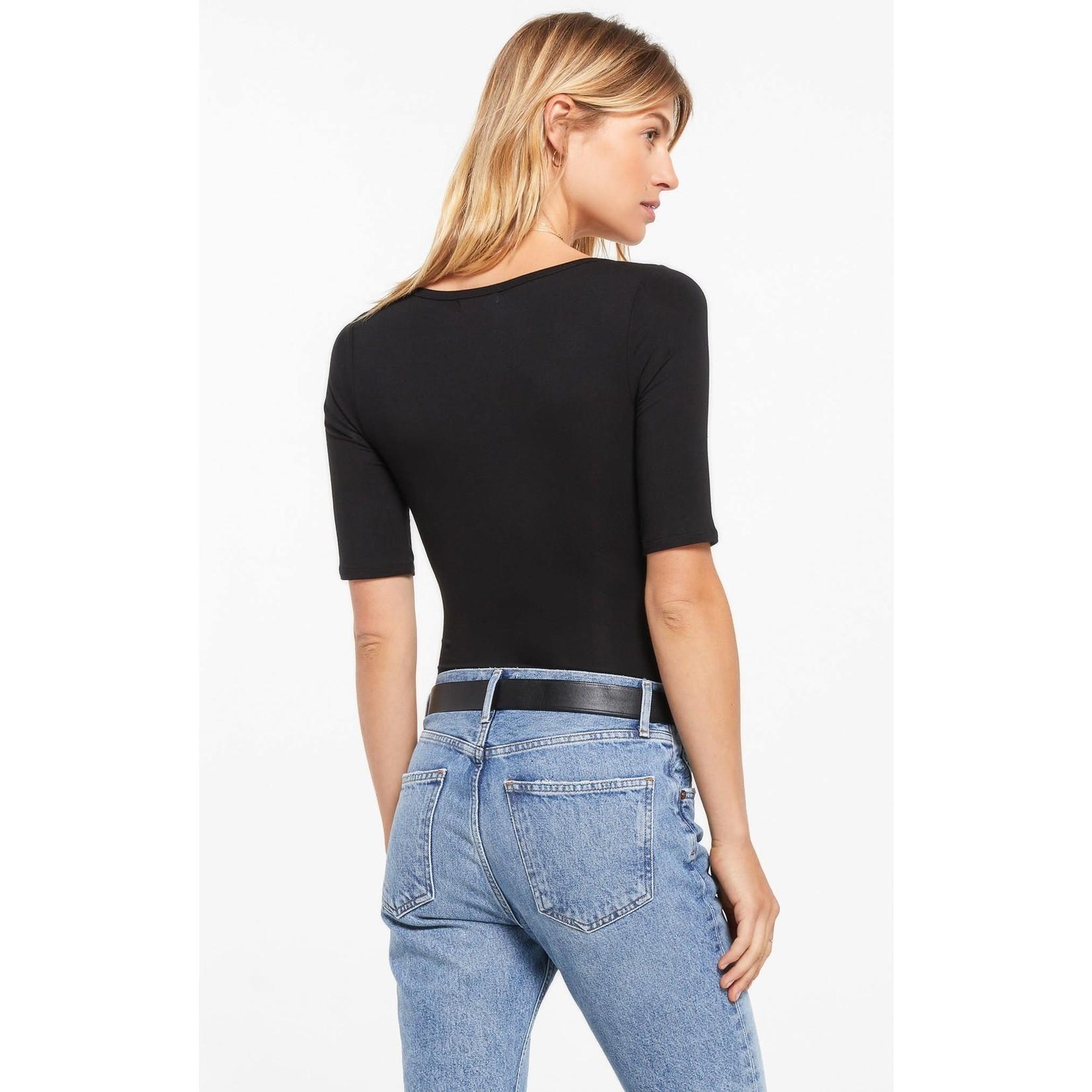 Z Supply Cara Sleek Scoop Bodysuit