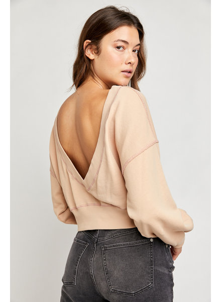 Free People Take Me Back Pullover