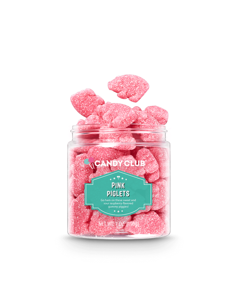 Candy Club Pink Piglets Gummy Candy