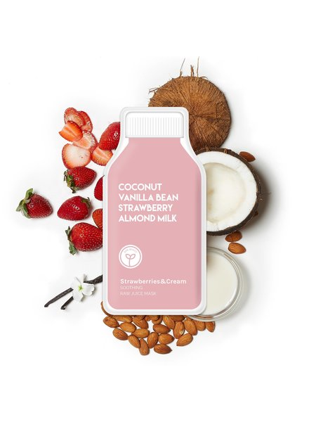 ESW Beauty Strawberries and Cream Soothing Raw Juice Mask