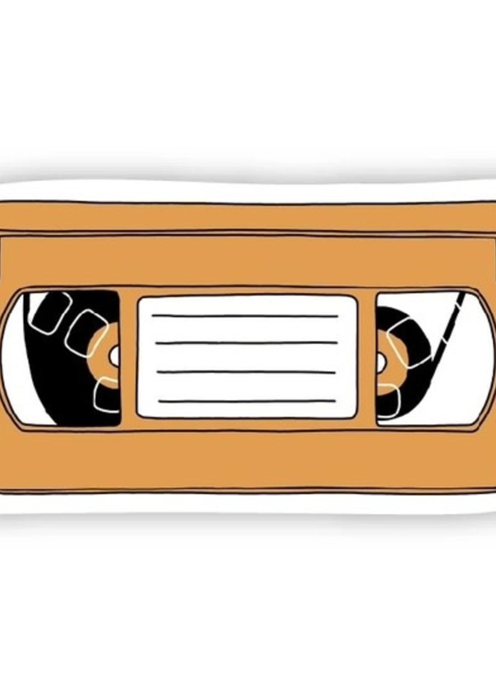 Big Moods Orange VHS Sticker