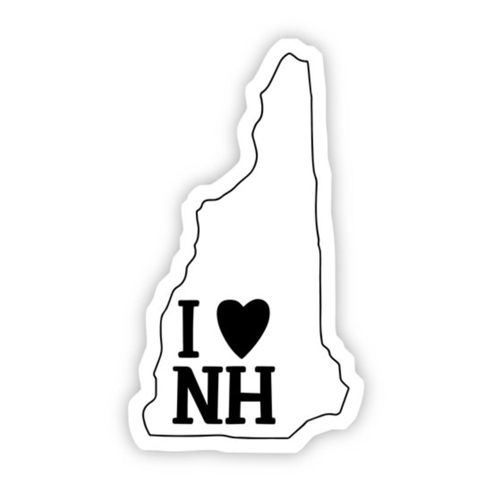 Big Moods I Love New Hampshire Sticker
