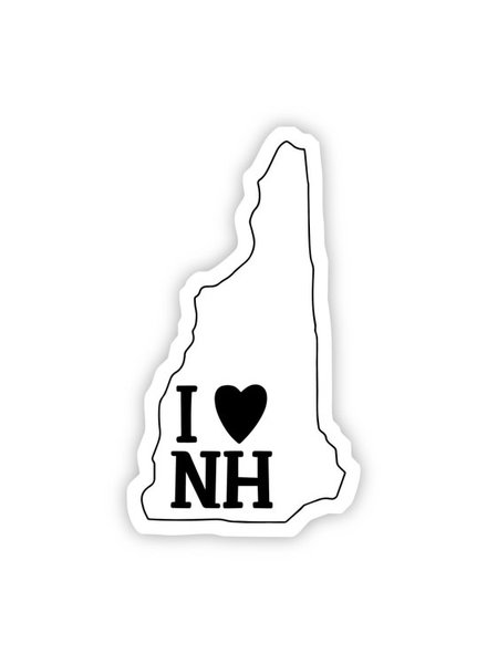 Big Moods I Love New Hampshire Sticker