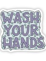 Big Moods Wash your hands sticker