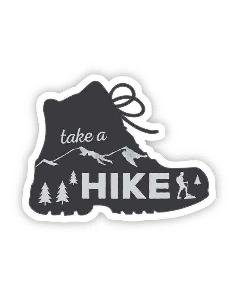 Big Moods Take a Hike Boot Sticker