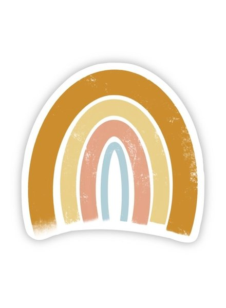 Big Moods Orange, Yellow, Pink, Blue Rainbow Sticker