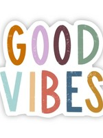 Big Moods Good Vibes Hand Lettering Sticker