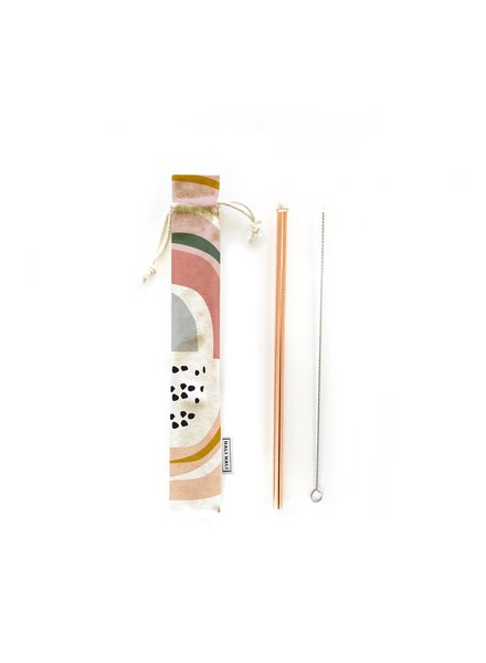Hali Hali LLC Prisim 3 Piece Reusable Straw Set