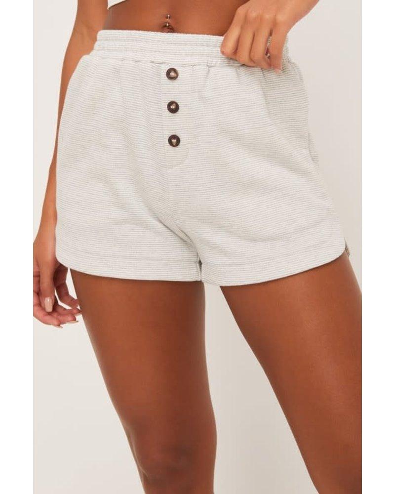 EM & ELLE Moe Buttoned Shorts