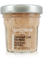 blancreme paris Peach Body Scrub - 1.3 oz