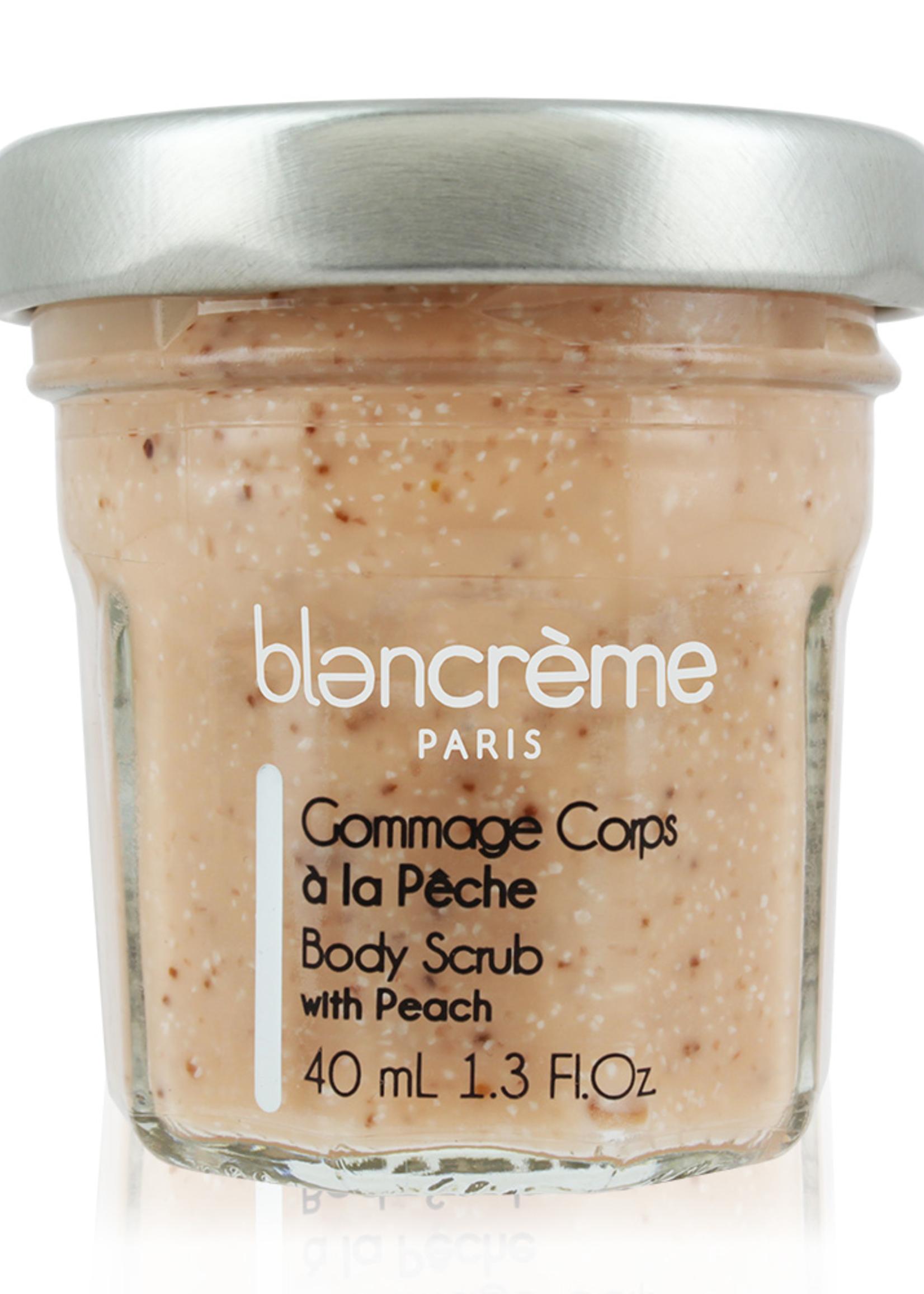 blancreme paris Peach Body Scrub - 1.3 oz