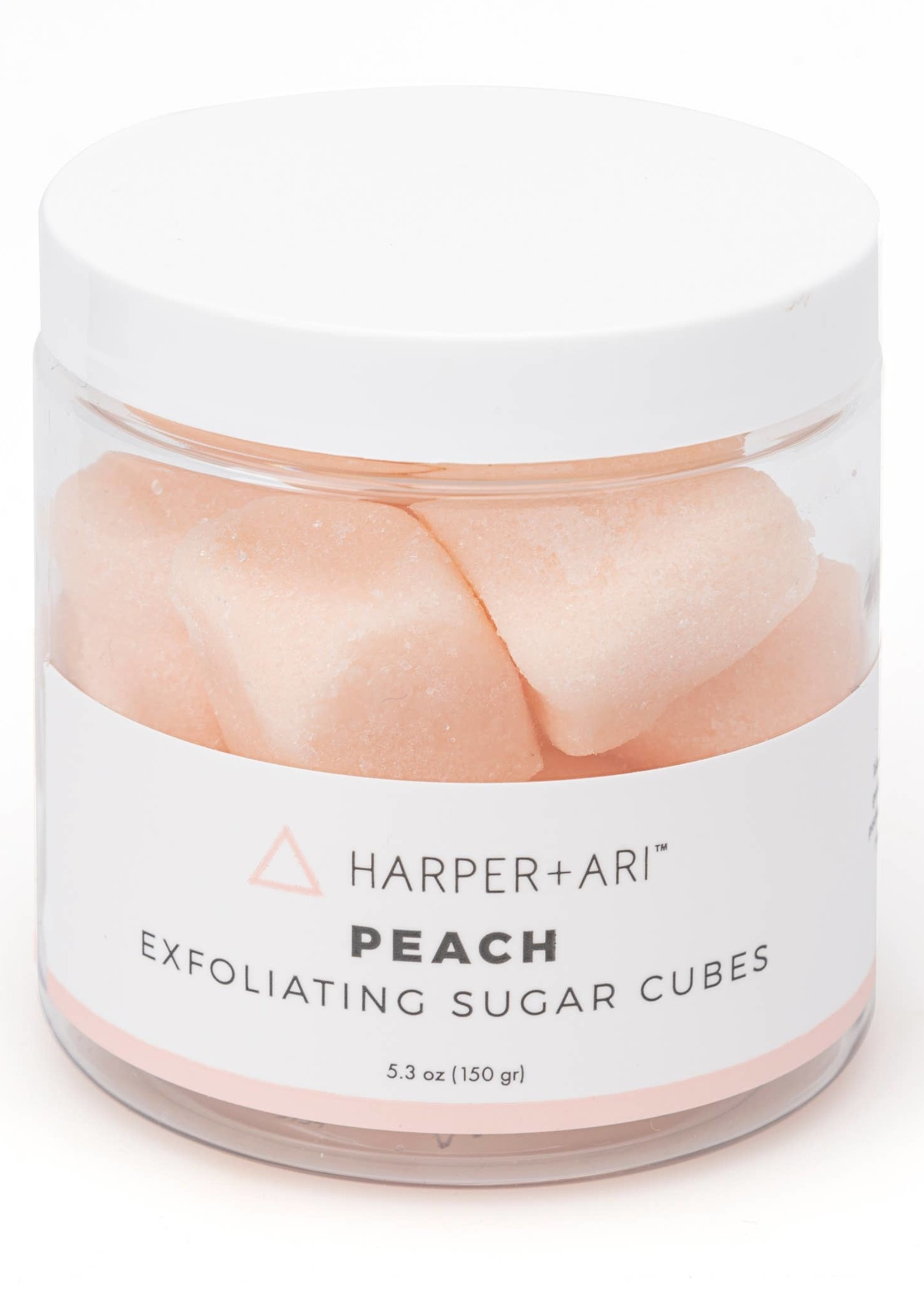 Harper + Ari Peach Exfoliating Sugar Cubes 5.3 oz