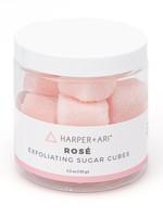 Harper + Ari Rosé Exfoliating Sugar Cubes 5.3 oz