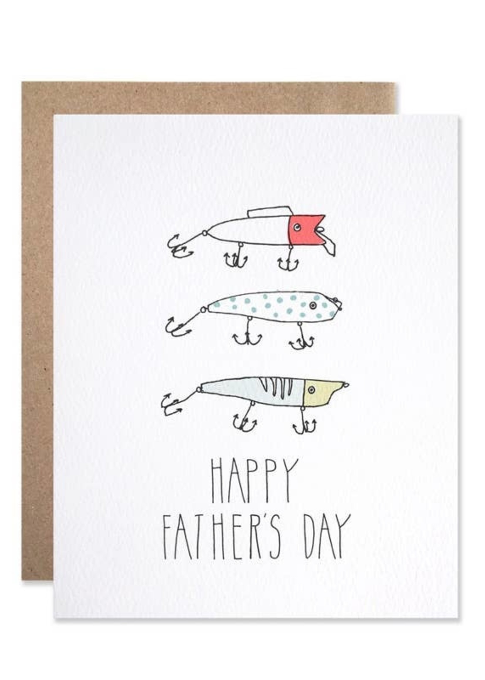 Father's Day Lures Card