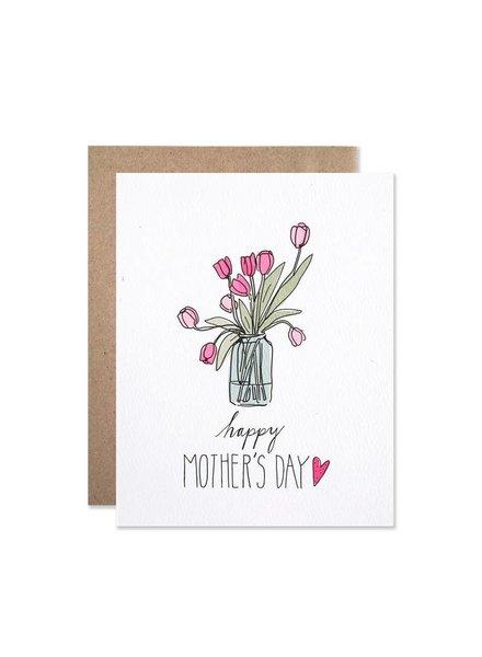 Hartland Brooklyn Mother's Day Tulips Card