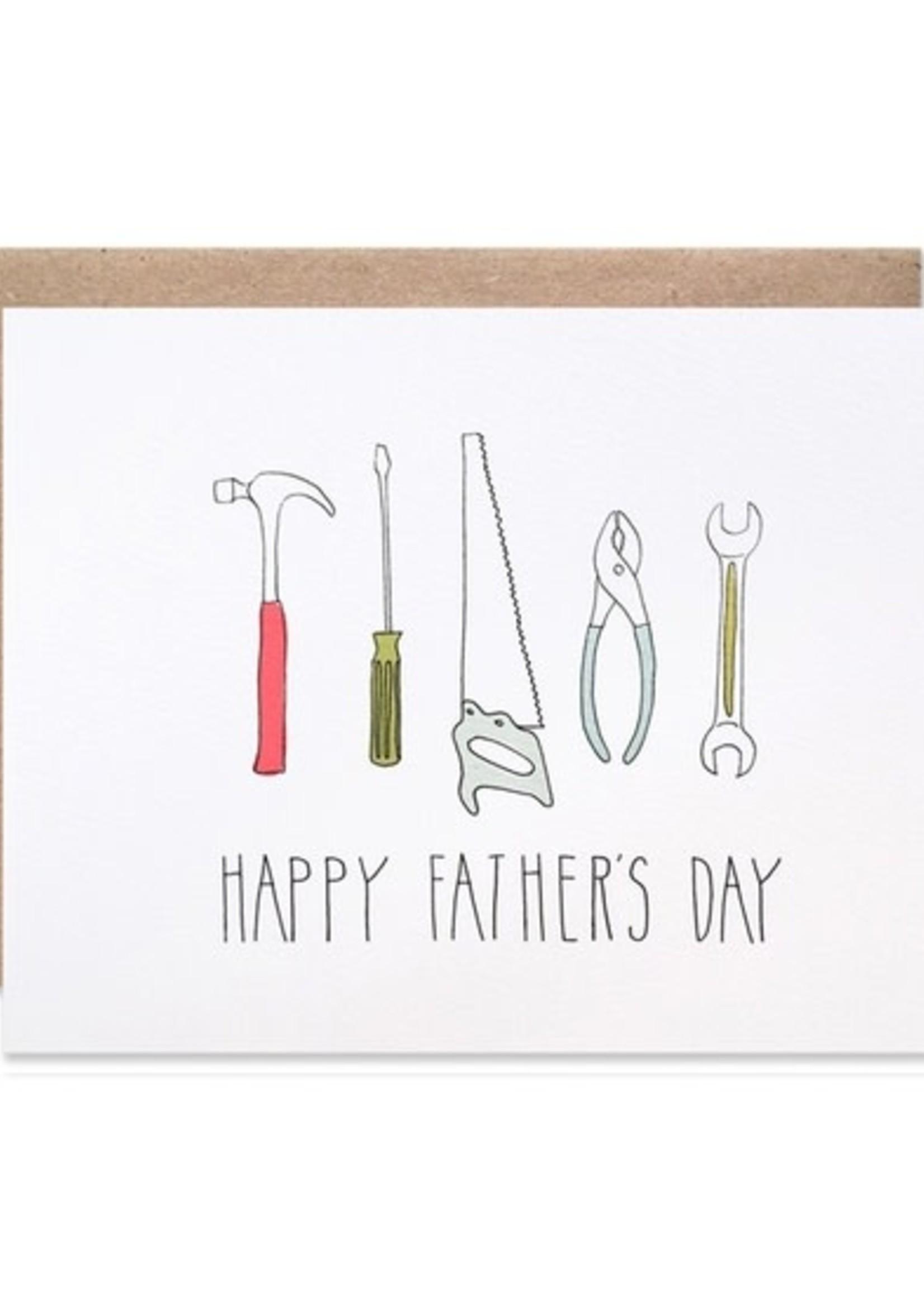 Hartland Brooklyn Father's Day Tools Card