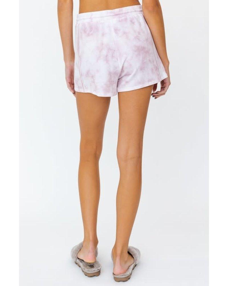 EM & ELLE Coleman Tie Dye Shorts