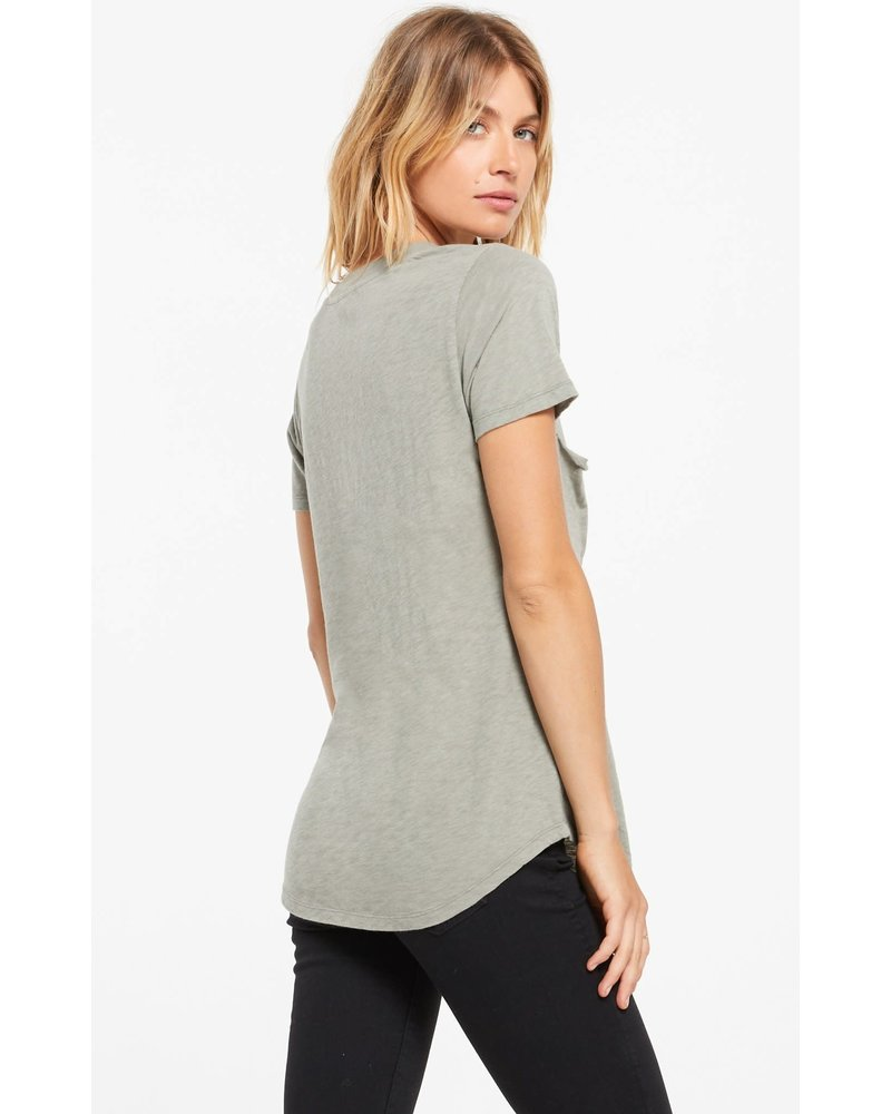 Z Supply The Cotton Slub Pocket Tee
