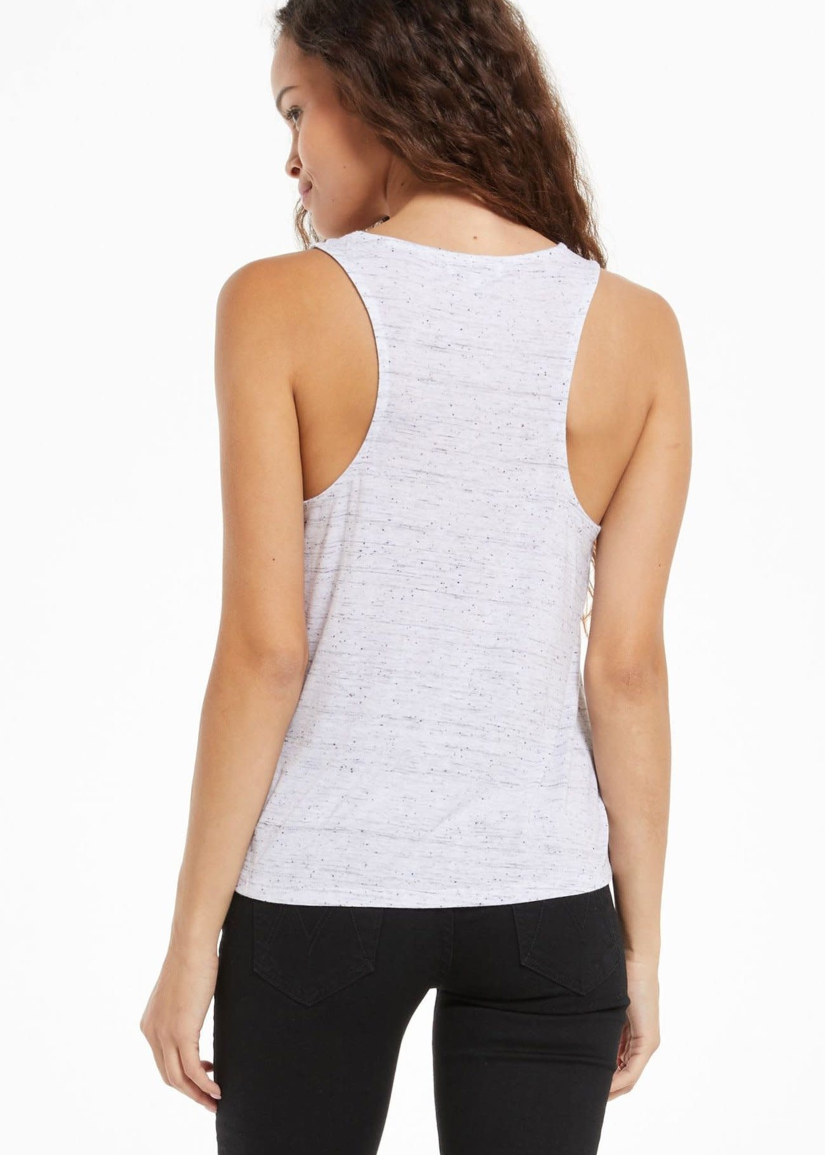 Z Supply Sloane Racer Back Speckle Tank