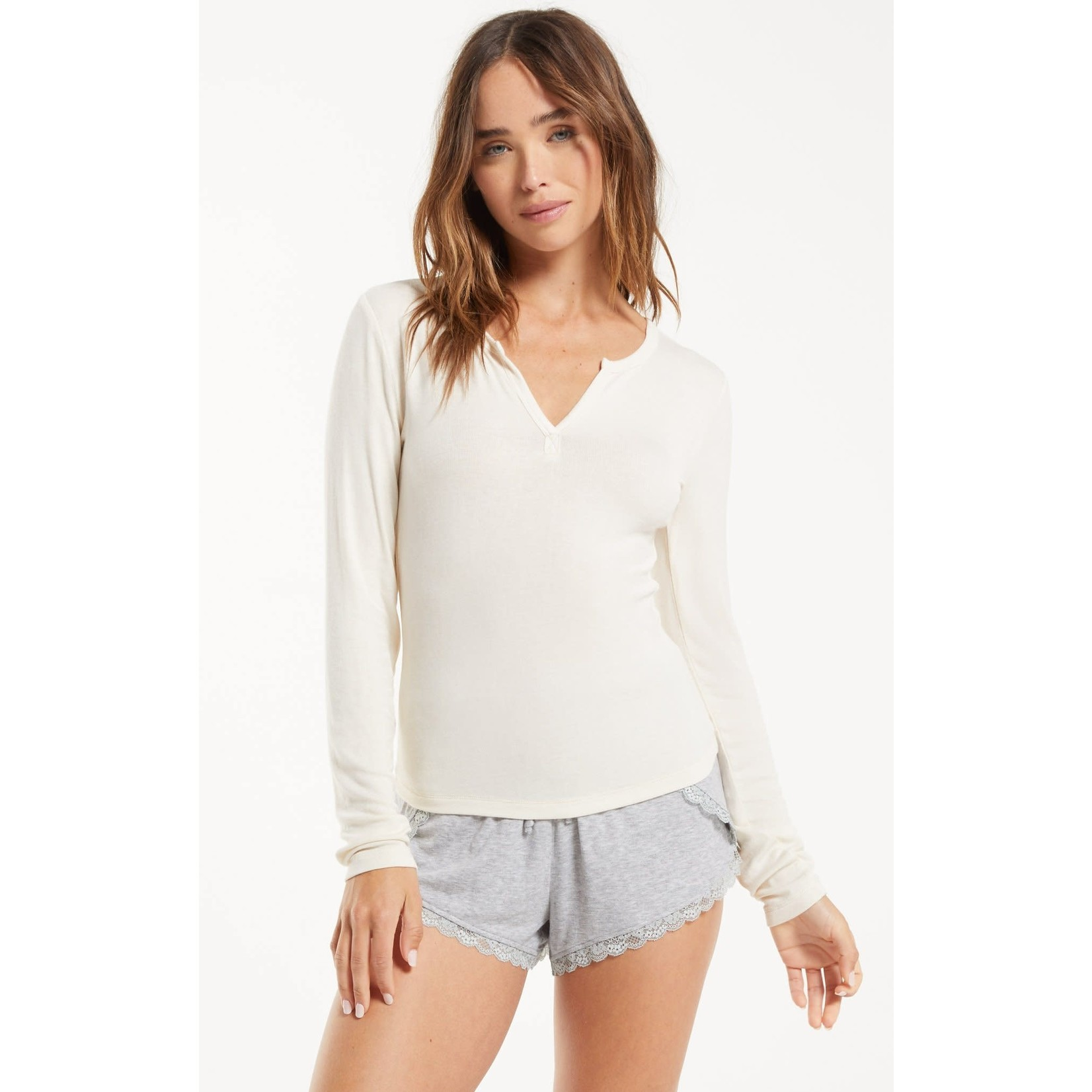 Z Supply Go To Long Sleeve Top