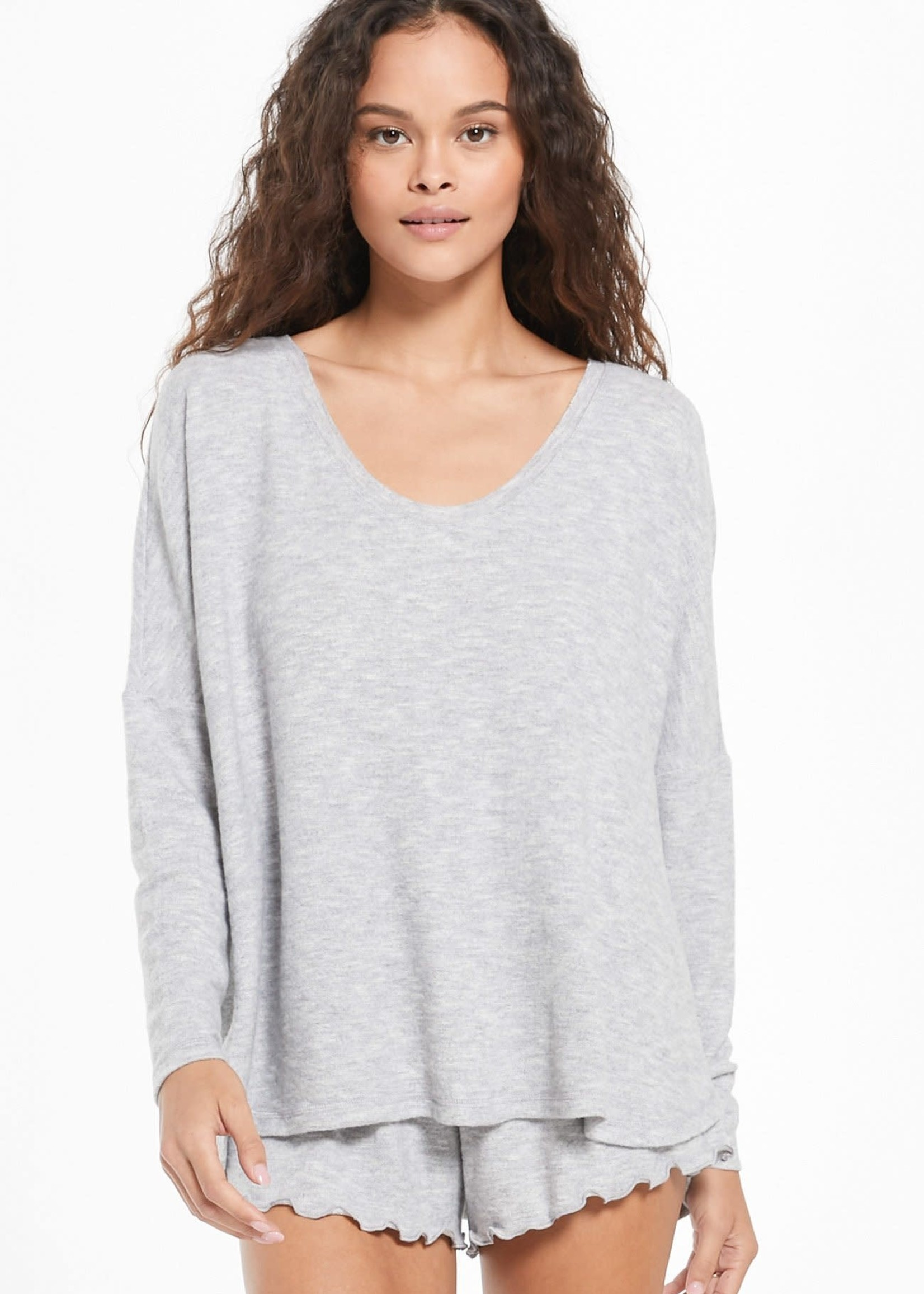Z Supply Hang Out Long Sleeve Top
