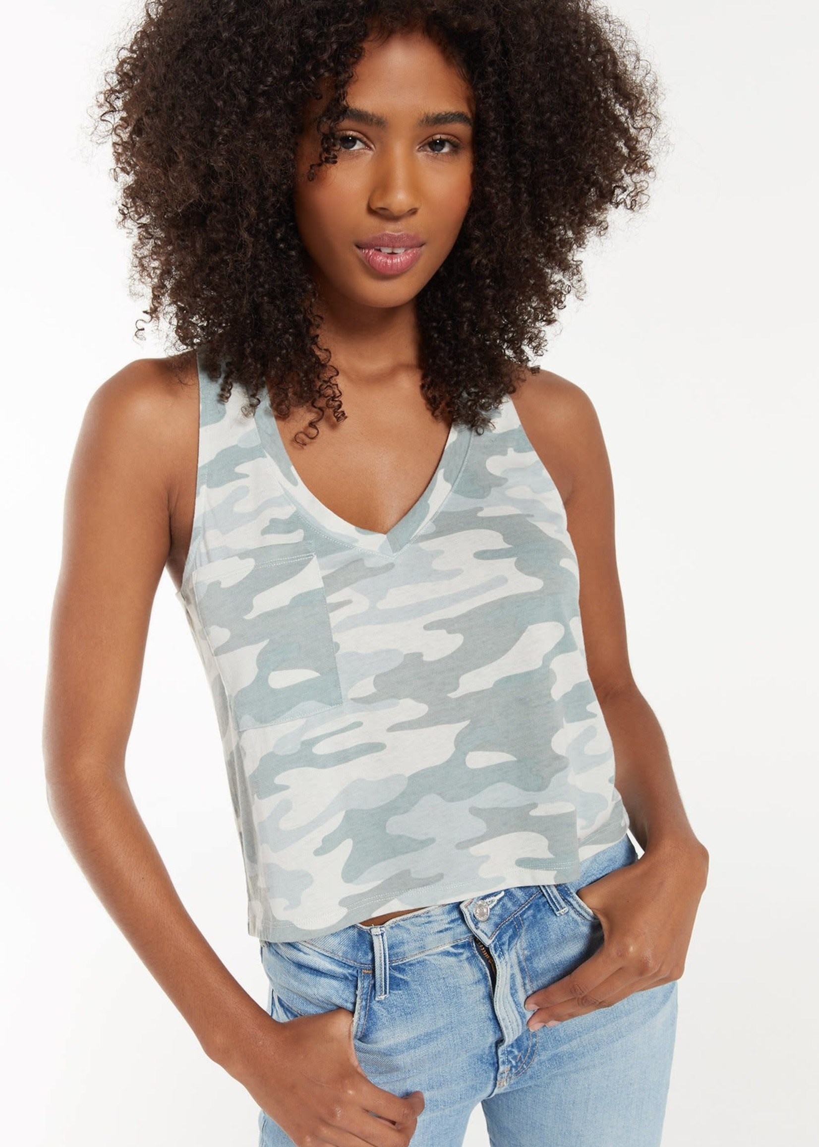 Z Supply Camo Skimmer Pocket Tank