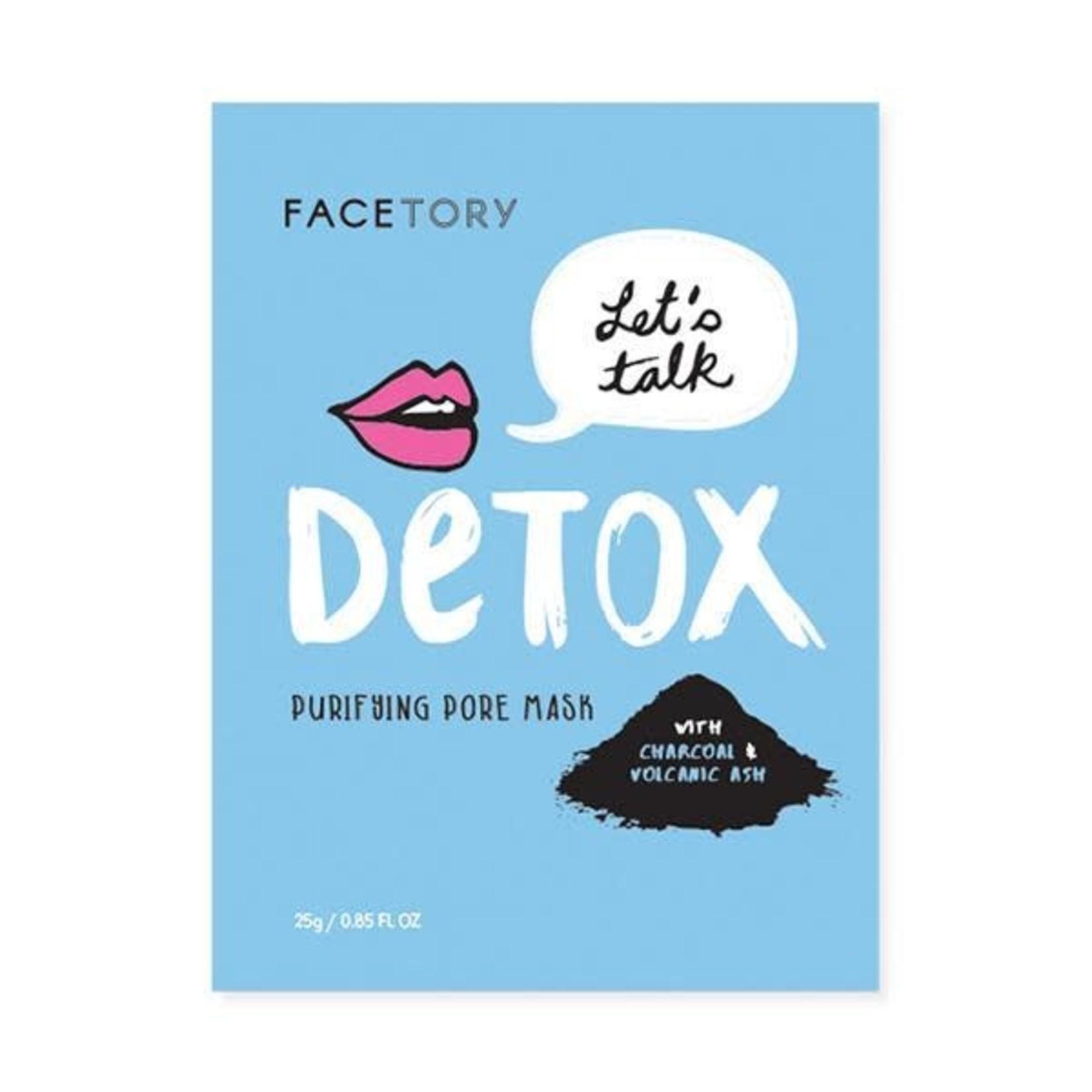facetory Let's Talk Detox Purifying Pore Mask