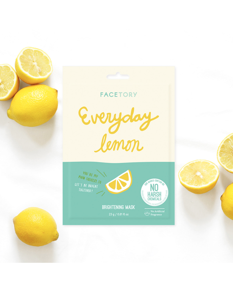 facetory Everyday, Lemon Brightening Mask