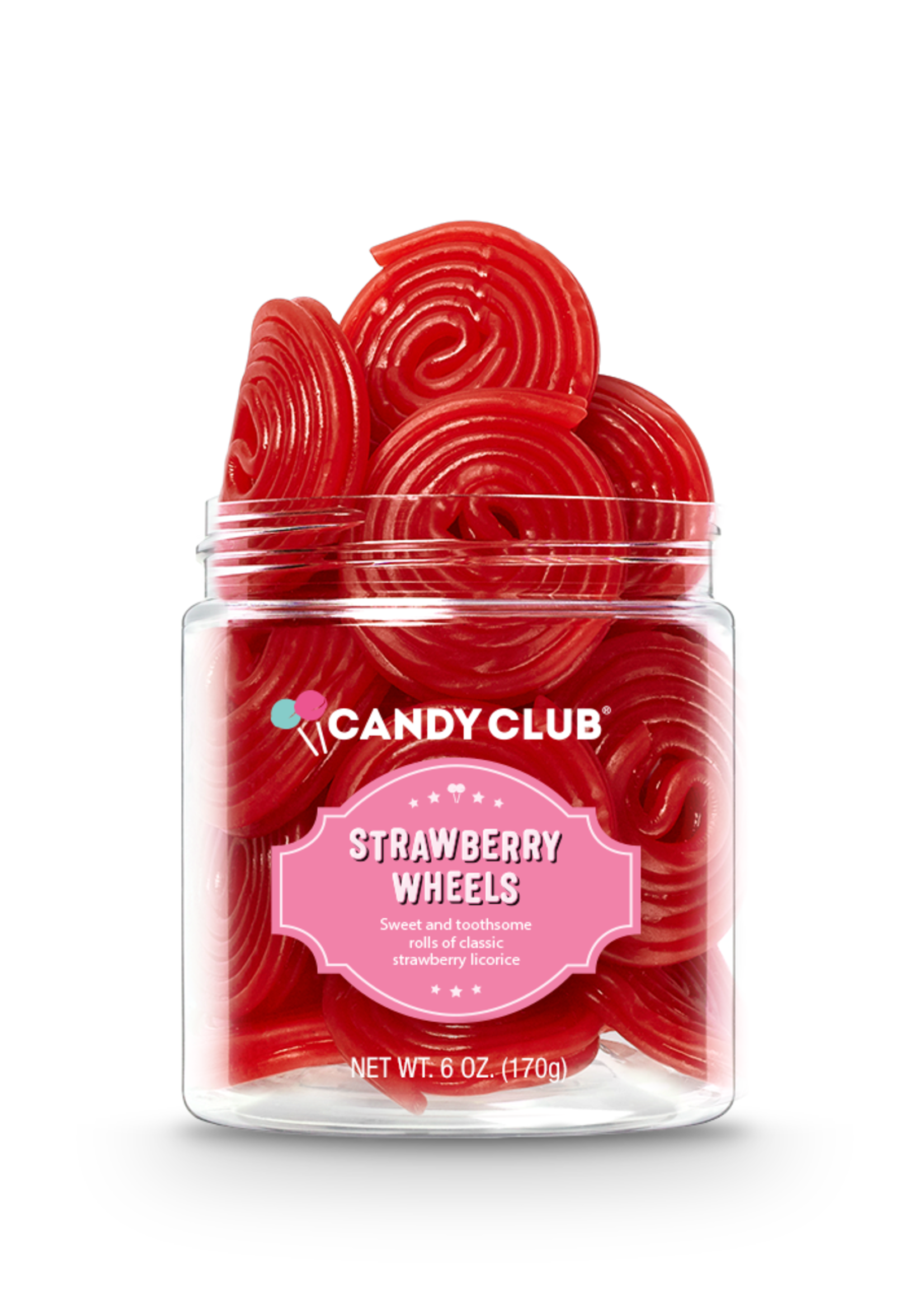 Candy Club Strawberry Wheels