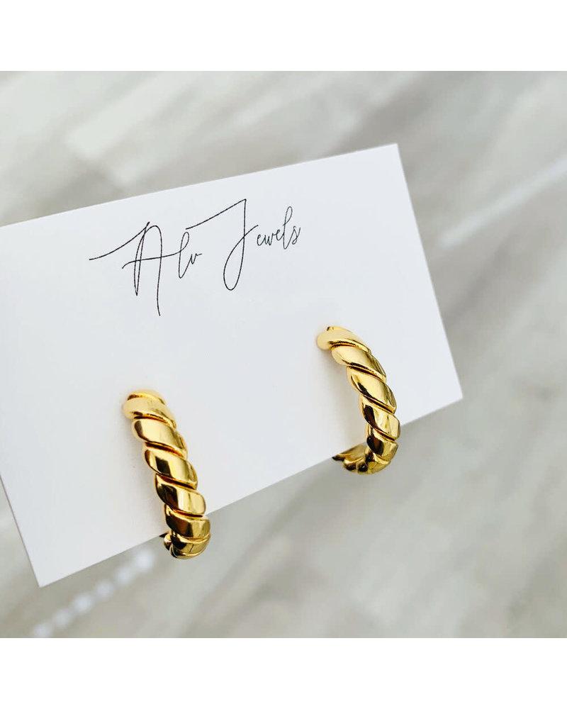 ALV Jewels Twist Hoops