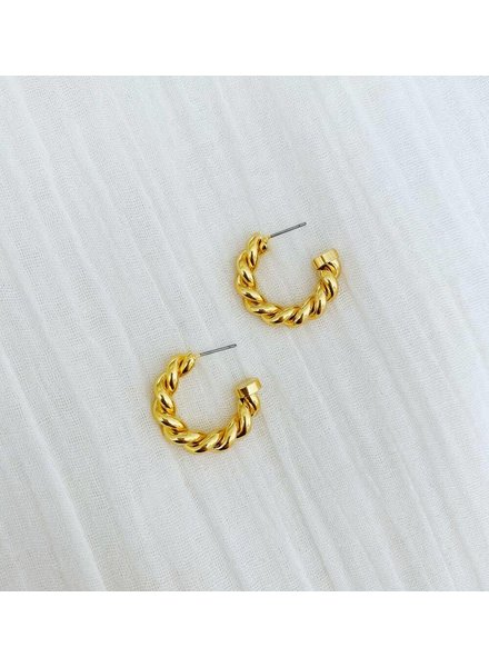 ALV Jewels Braided Hoops