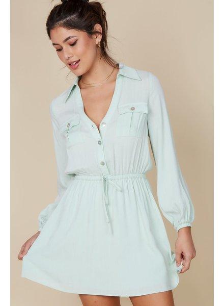 EM & ELLE Isadora Buttoned Dress