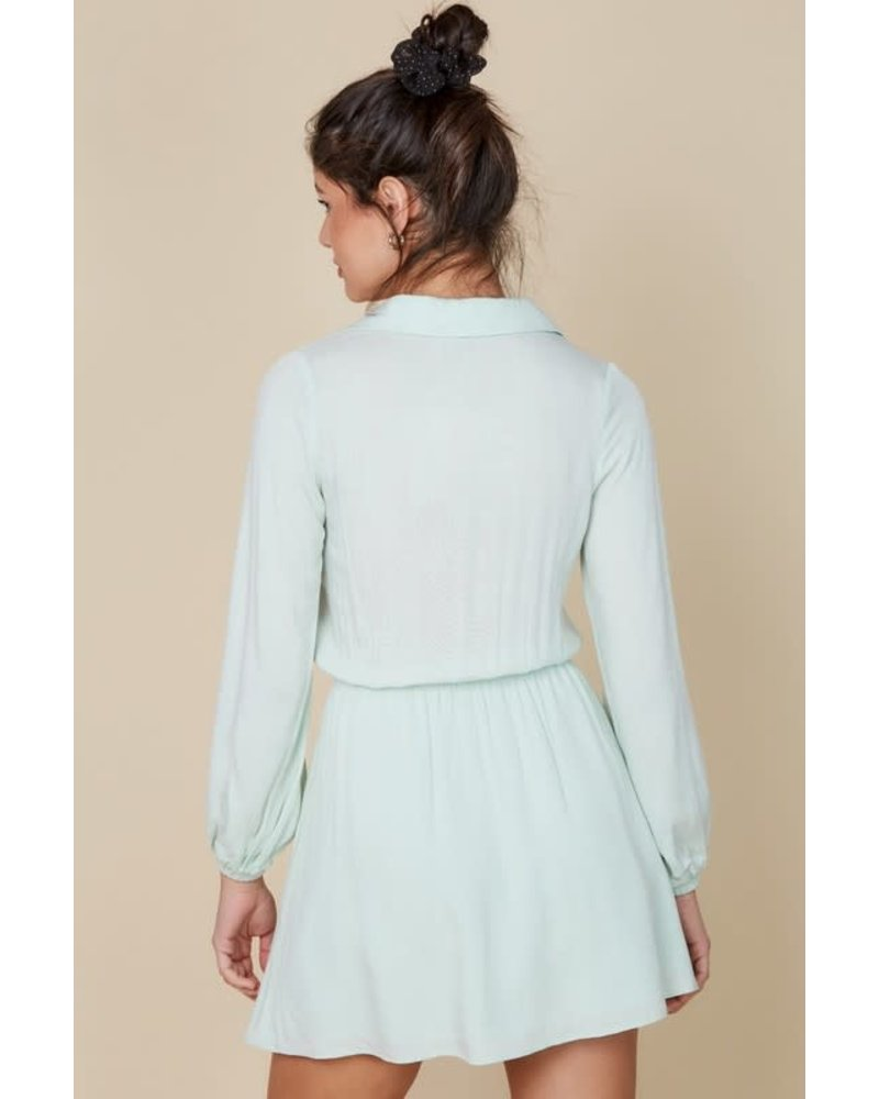 EM & ELLE Isadora Buttoned Dress